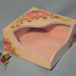 """Короб для серветок """"Польові квіти"""""""