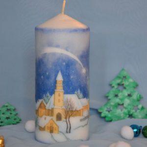 """Свічка """"Різдвяна ніч"""""""