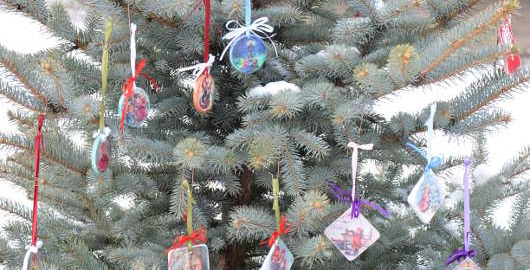 Новорічні ялинкові прикраси 2014