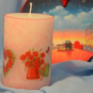 Свічка Трояндочки