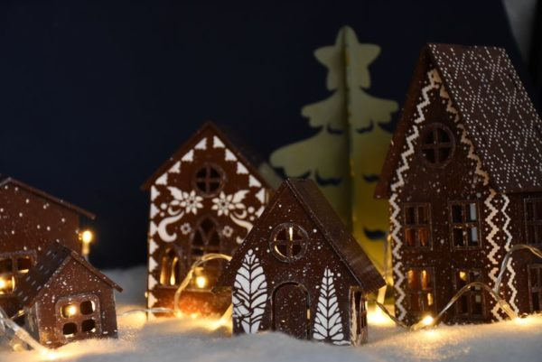 """Новорічний декор """"Місто"""""""